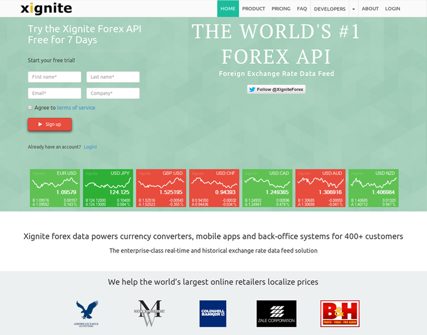 Live forex currency prices